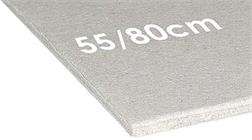 Carton gris 55/80 cm à la pièce