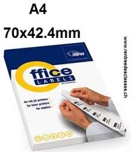 Bte de 2400 étiquettes autocollantes de 70x42,4mm