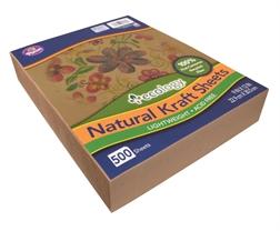 Pqt de 500 flles papier Kraft Natural A4+