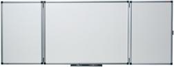 Tableaux blancs triptyques 240 x 90cm