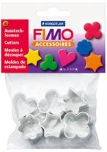 Set de 6 moules à découper FIMO