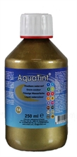 Flacon de 250ml d'encre liquide AquaTint or et argent
