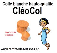 Flacon de colle blanche Cléocol®
