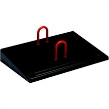 Wonday Socle pour calendrier, en plastique, noir