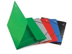 Dossier A4 en plastique à 3 compartiments classic