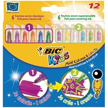 Etui de 12 feutres Kids Mini Colour & Create