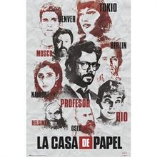 Poster, la casa de papel