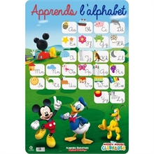 Fiche éducative Alphabet, MICKEY MOUSE