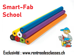 Smart-Fab School Rolls 122cm x 12m - Rentrée des classes