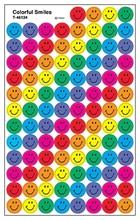 Gommettes Smiles multicolores