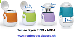 Taille-crayons TINO - 2 trous