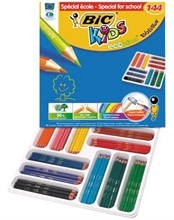 Crayons de couleur Ecolutions Evolution, paquet de 144 en lots