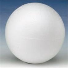 Sachet de 10 boules en polystyrène