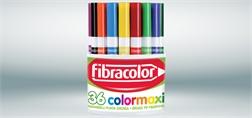 Box de 36 feutres Fibracolor large