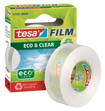 Ruban adhésif tesa Film® Eco & Clear 15x10mm