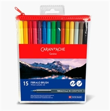 Set de feutres Fibralo Brush Pen Caran d'Ache