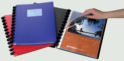 Albums de présentation Adoc  Bind-index A4 40 poches