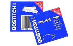 Bte de 1000 agrafes pour Bostitch B8 C, B8 RD, BP 8 e