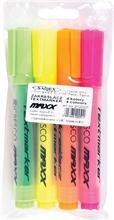Etui de 4 surligneurs Fluo MAXX